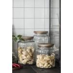 Ib Laursen Glaskrukke med trælåg 2,3 L