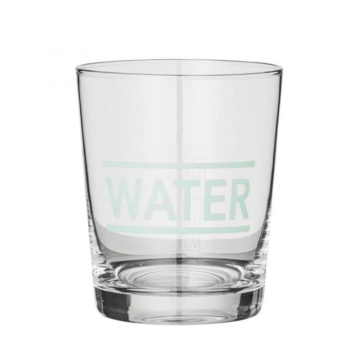 Bloomingville Drikke glas Water clear mint