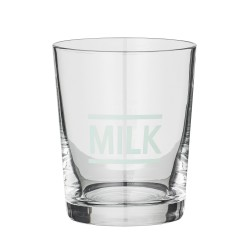 Bloomingville Drikke glas Milk clear mint