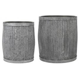 Ib Laursen Skjulersæt a 2 stk m riller zink