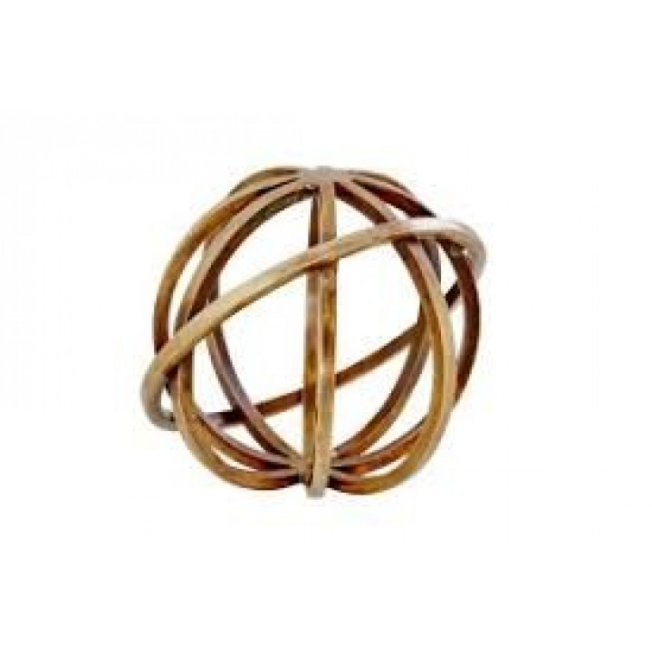 Day Home Planet antique brass 15cm