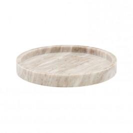 Meraki Bakke marmor stor rund beige