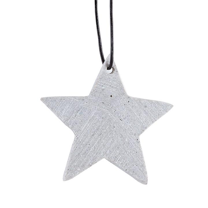 HouseDoctor Julepynt stjerne cement