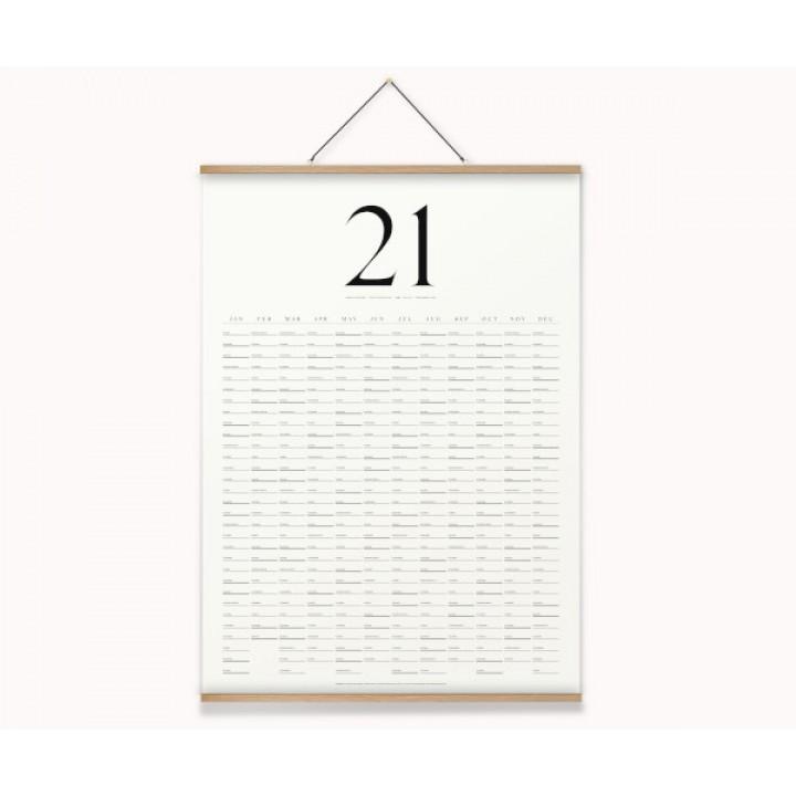 KbhavnCalendar The Wall Calendar 2021 OAK