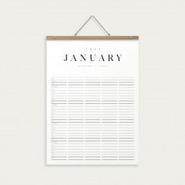 KbhavnCalendar The Family Calendar 2021 OAK